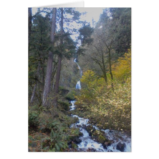 River Falls Greeting Card
