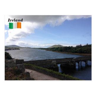 River Fertha, Caherciveen, Co. Kerry, Ireland. Postcard