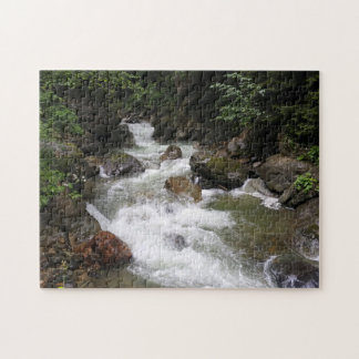 River Flowing Downstream Jigsaw Puzzle