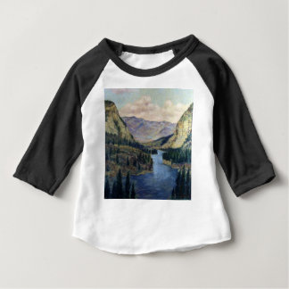 River Flows On Baby T-Shirt