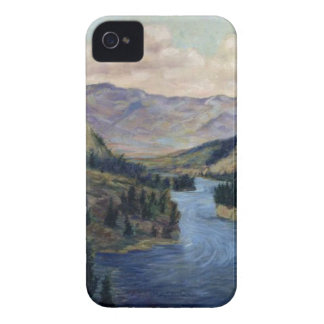 """""""River Flows On"""" iPhone 4 Cover"""