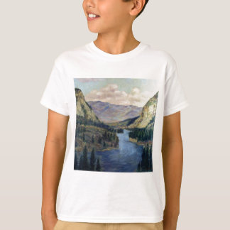 River Flows On T-Shirt