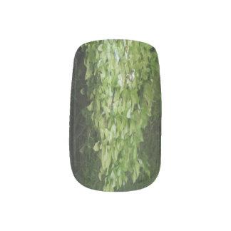 River Foliage Minx Nail Art