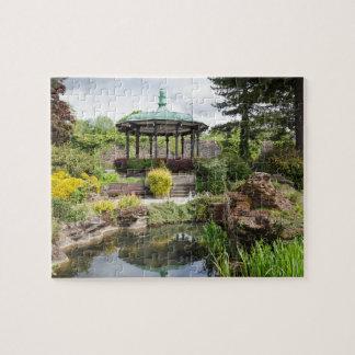 River Gardens in Belper, Derbyshire Jigsaw Puzzle