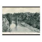 River Gorge Bridge, Rochester NY Vintage Postcard