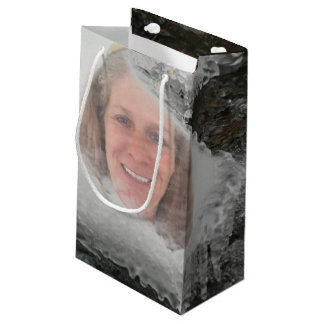 River Icicles Photo Frame Small Gift Bag