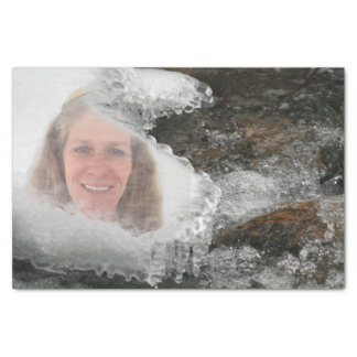 River Icicles Photo Frame Tissue Paper