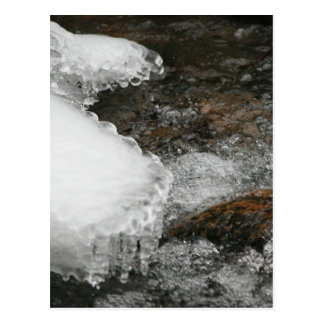 River Icicles Postcard