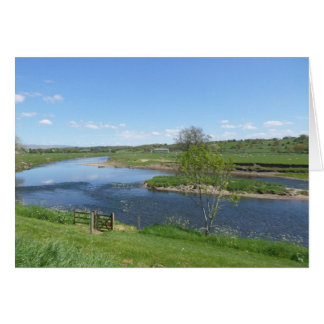River in England Card
