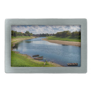 River Kupa in Sisak, Croatia Belt Buckles