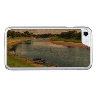 River Kupa in Sisak, Croatia Carved iPhone 8/7 Case