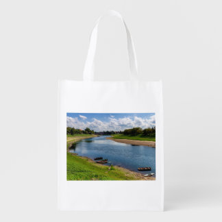 River Kupa in Sisak, Croatia Reusable Grocery Bag