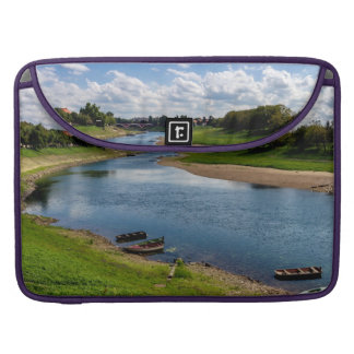 River Kupa in Sisak, Croatia Sleeve For MacBook Pro