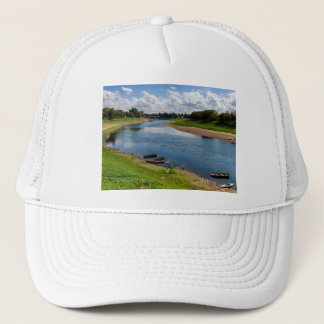 River Kupa in Sisak, Croatia Trucker Hat