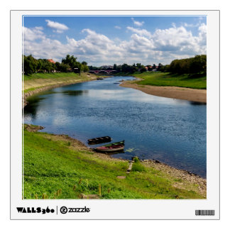 River Kupa in Sisak, Croatia Wall Decal
