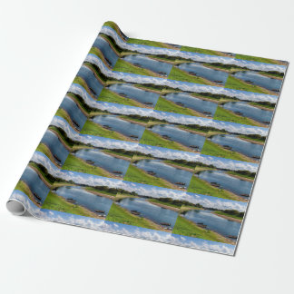 River Kupa in Sisak, Croatia Wrapping Paper