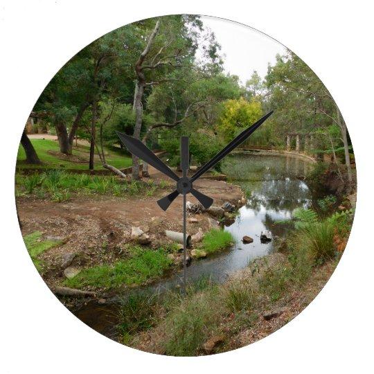 river large clock