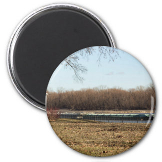 River Life 2 Inch Round Magnet