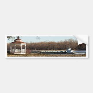 River Life Bumper Sticker