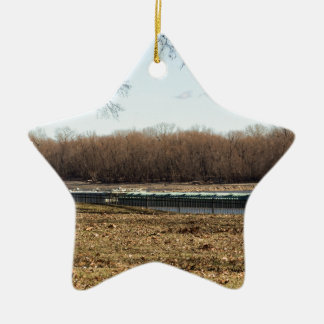 River Life Ceramic Ornament