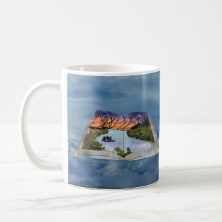 River Murray, Page In A Book, Coffee Mug