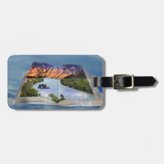 River Murray, Page In A Book, Luggage Tag