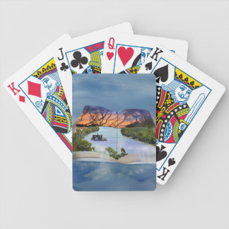 River Murray, Page In A Book, Poker Deck