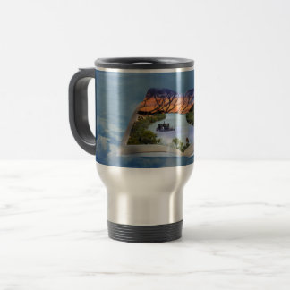 River Murray, Page In A Book, Travel Mug