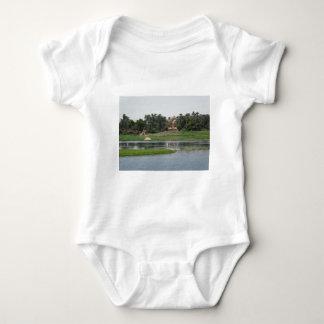 River Nile Scene Baby Bodysuit