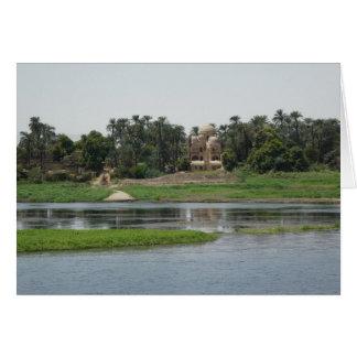 River Nile Scene Card