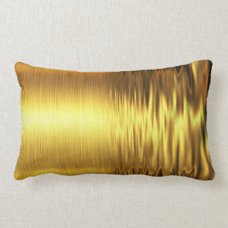 River of Gold Lumbar Pillow