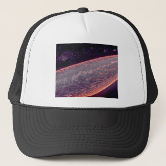 river of molten fire trucker hat