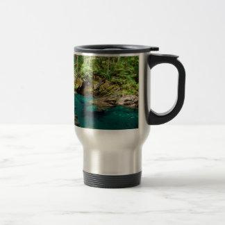 River Ohanapecosh Mt Rainier Travel Mug