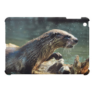 River Otter Animal-lover's Wildlife Photo iPad Mini Cover