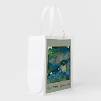 River Otter Reusable Grocery Bag