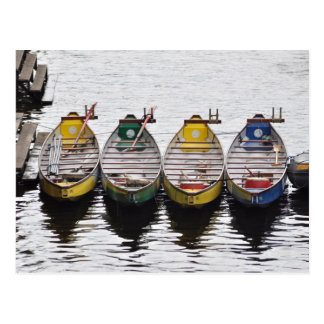 River Ouse Boats Postcard