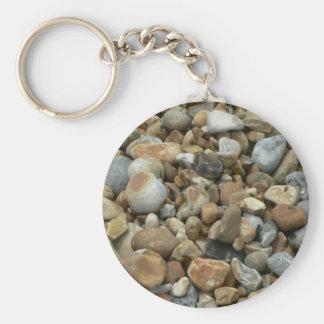 River Pebbles Keychain