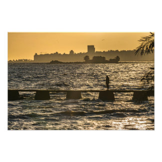 River Plater River Scene at Montevideo Photograph