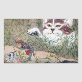 River pot dawn 斎, monster cat sticker