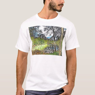 River Reflections Basic T-Shirt