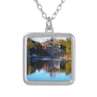 River Reflections Silver Plated Necklace