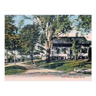 River Road, Bogota, New Jersey Vintage Postcard
