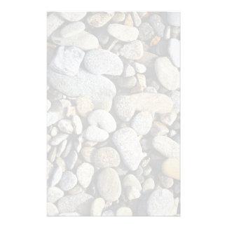 River Rock (Cobblestones) Background Stationery