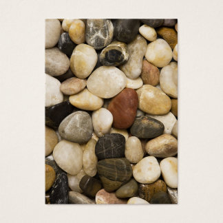 River Rock Stone Background - Customized Template Business Card