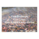 River Rocks Business Card Templates