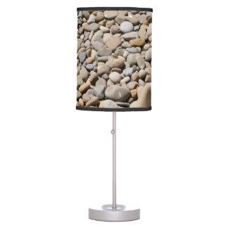 River Rocks Pebbles Table Lamp