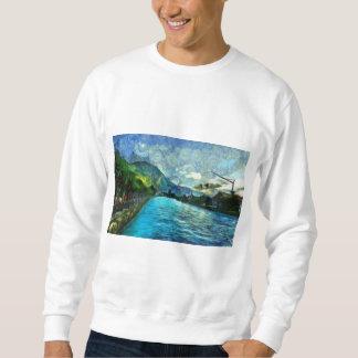 River running through Interlaken Sweatshirt