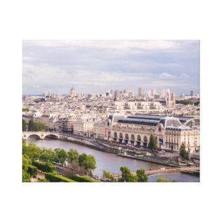 River Seine, Paris Canvas Print