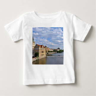 River side of Prague, Republic Czech, Baby T-Shirt