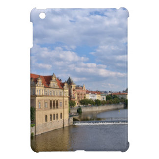 River side of Prague, Republic Czech, iPad Mini Cover